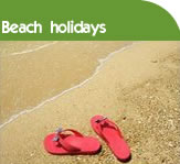 Holiday cottages near sandy beaches