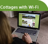 Cottages with Wi-Fi or internet access
